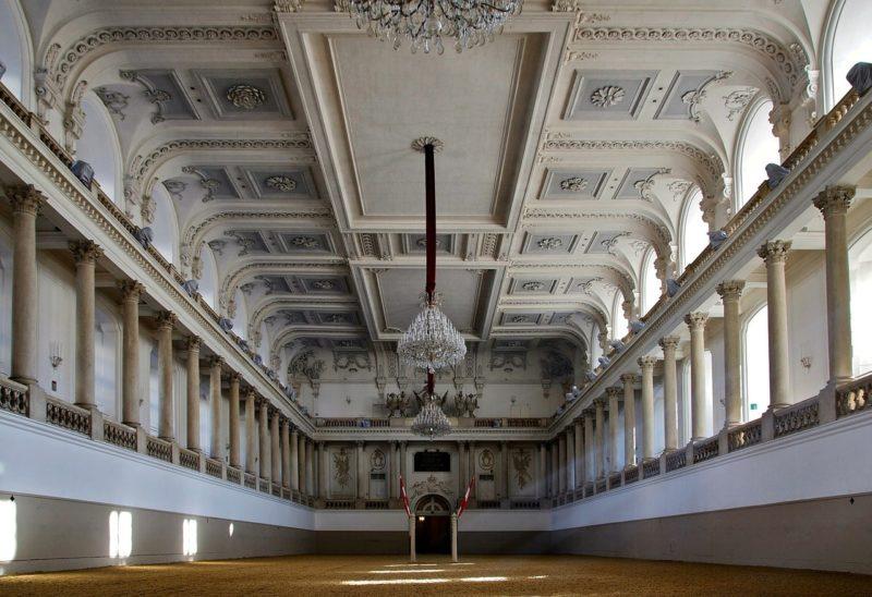 École Espagnole d'Équitation à Vienne
