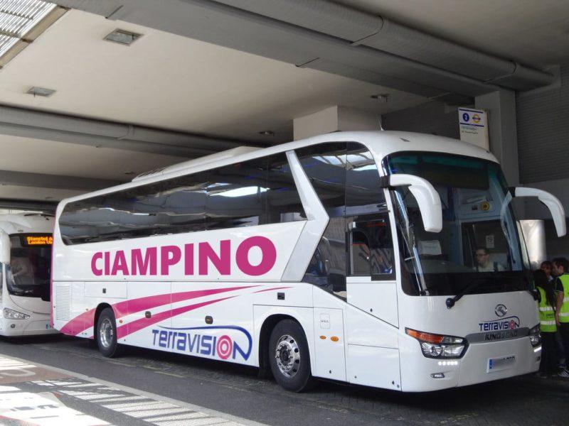 Transfert Aéroport Ciampino : navette