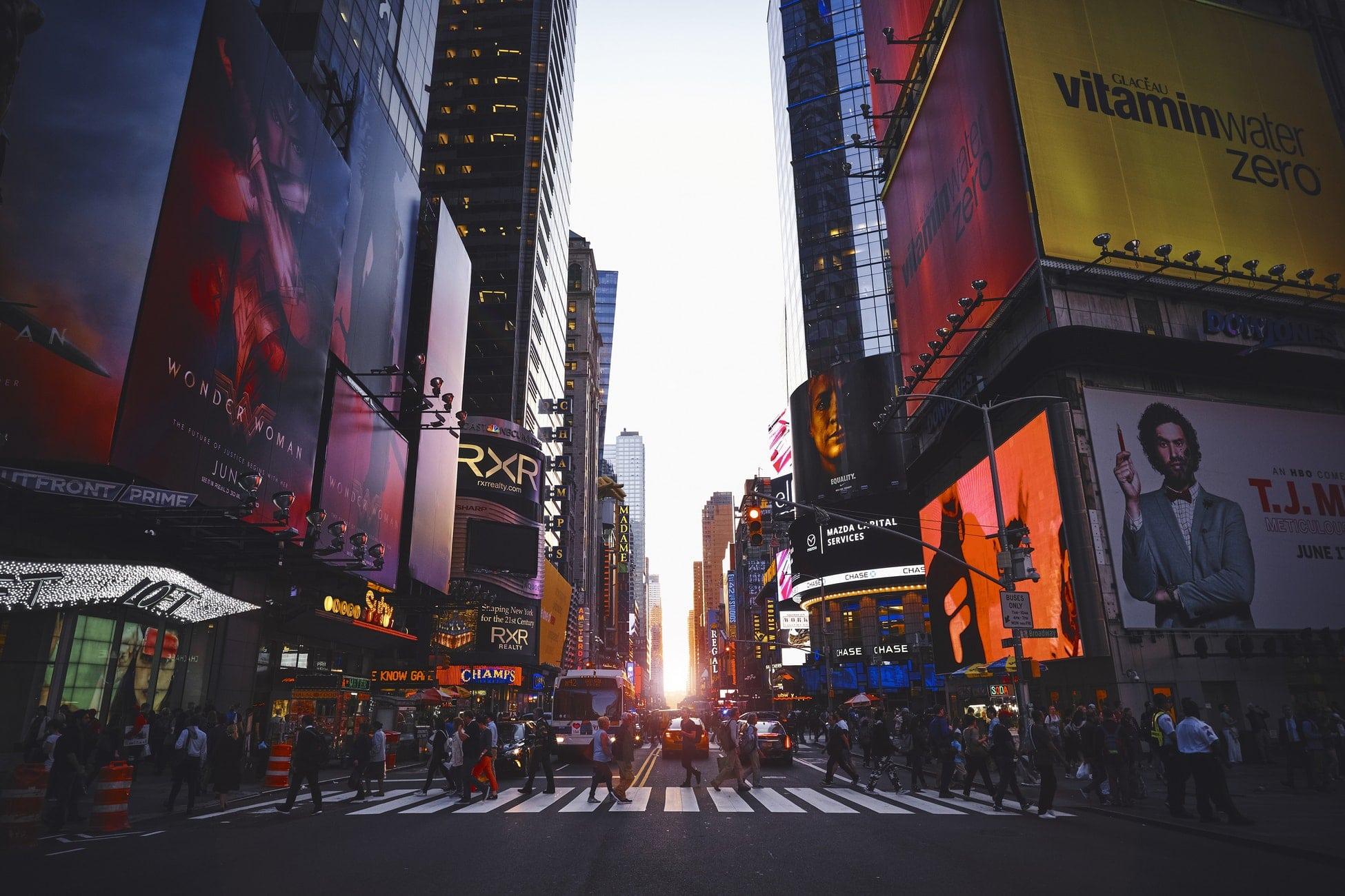 Vols A/R pour New-York à partir de 245€/personne