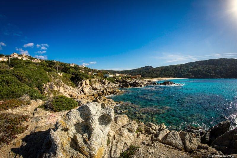 Plage de Tizzano, Corse