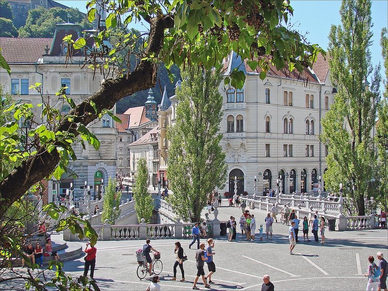 Centre historique, Triple Pont, Ljubljana