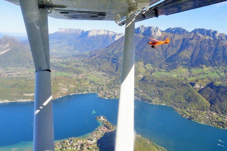 ULM au Lac d'Annecy