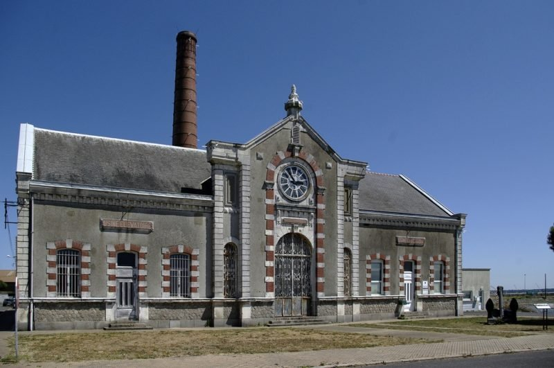 usine élévatoire, Saint-Nazaire