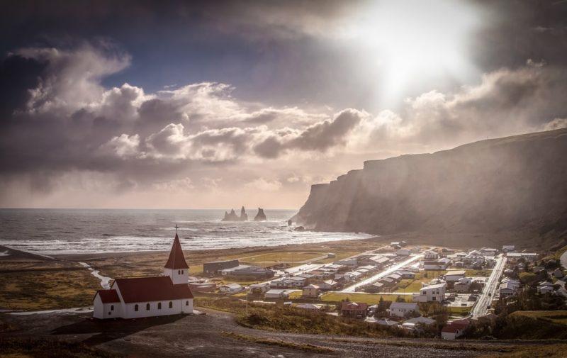 Loger à Vík í Mýrdal, Islande