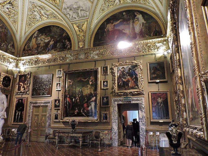 Galleria Palatina, Palazzo Pitti, Florence