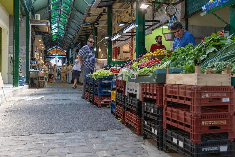 Kapani Market in Thessaloniki