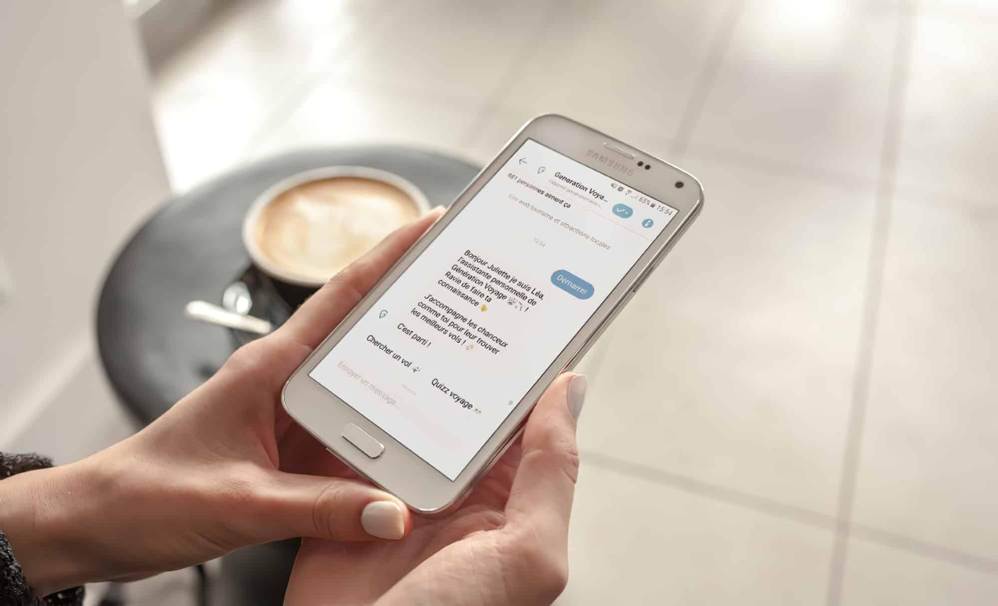 Chatbot voyage : billet d'avion pas cher