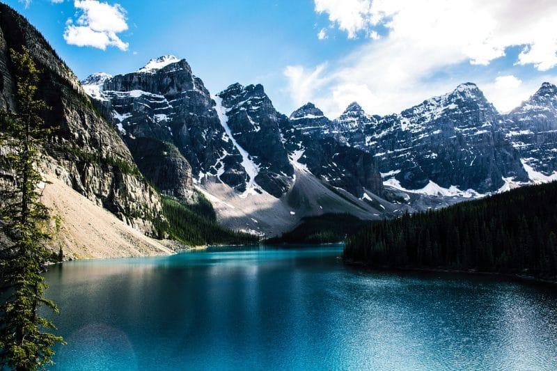 Lac Moraine, Canada