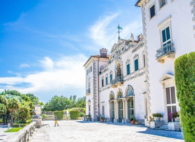 Villa et Jardins Vizcaya, Miami