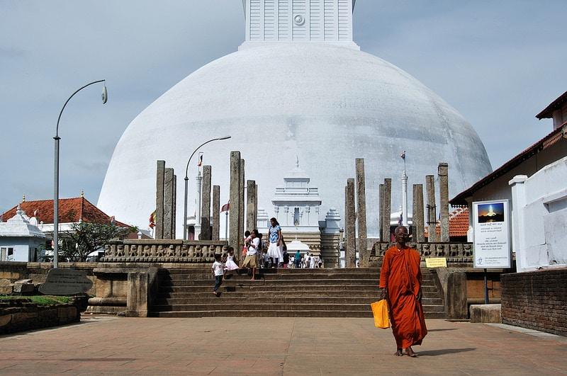 Loger à Anuradhapura, Sri Lanka