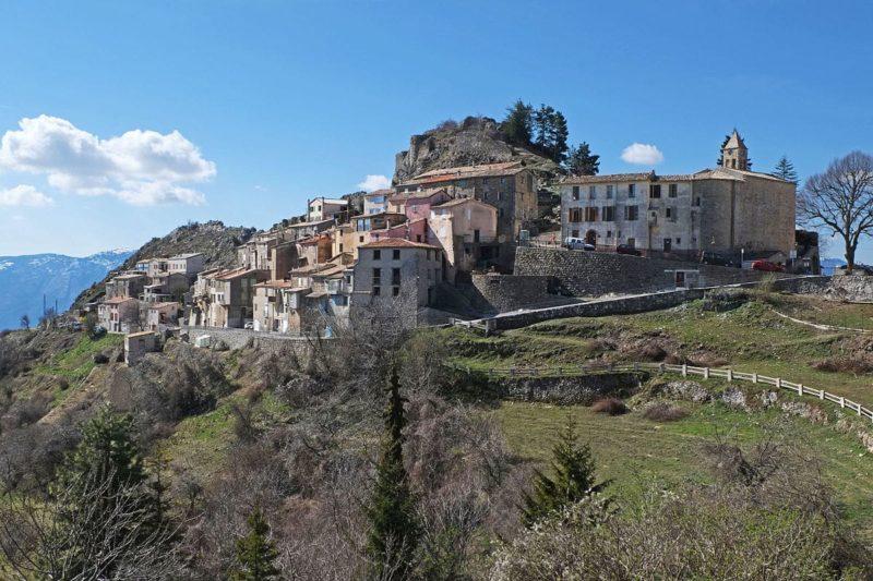 Village d'Ascros, Mercantour