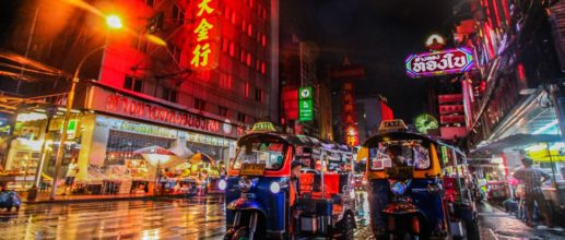 Bangkok, la capitale thaïlandaise 🐘
