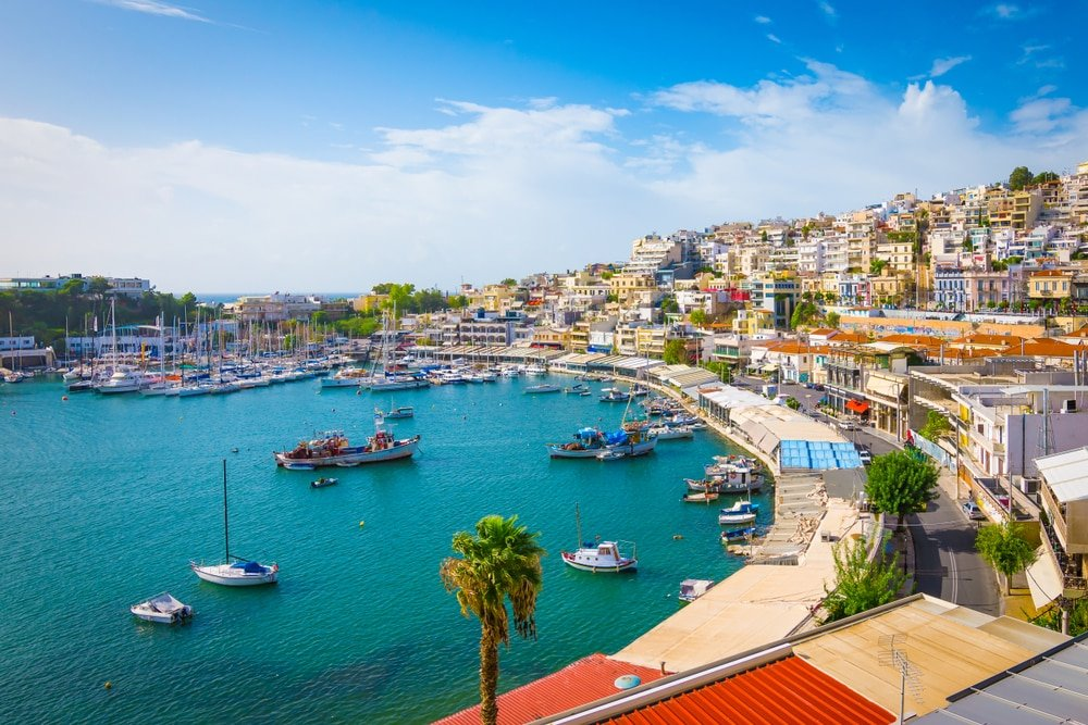 balade en bateau à Athènes
