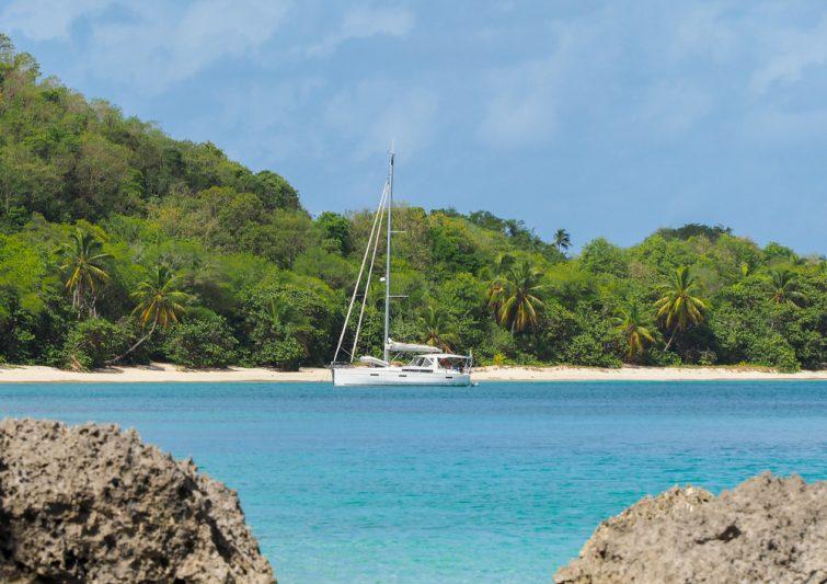 Visiter et louer un bateau à Marie-Galante