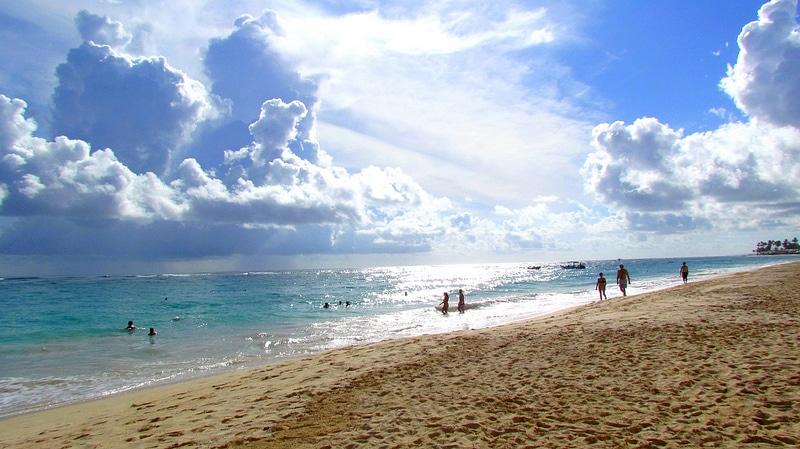 Plage à Punta Cana