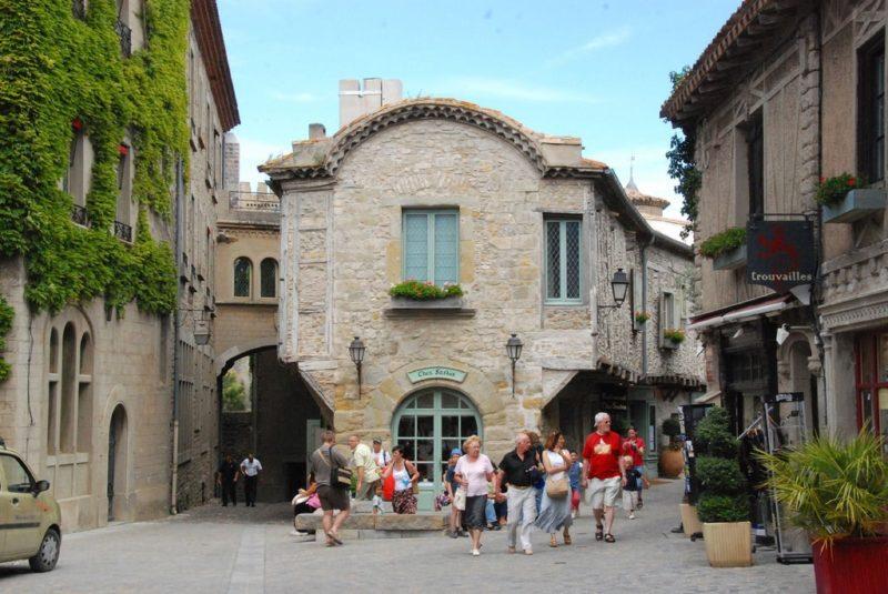 Centre-ville de Carcassonne