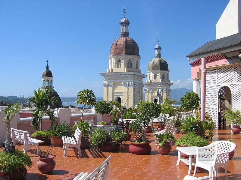 Hôtel Casa Grande, rooftop, Santiago de Cuba