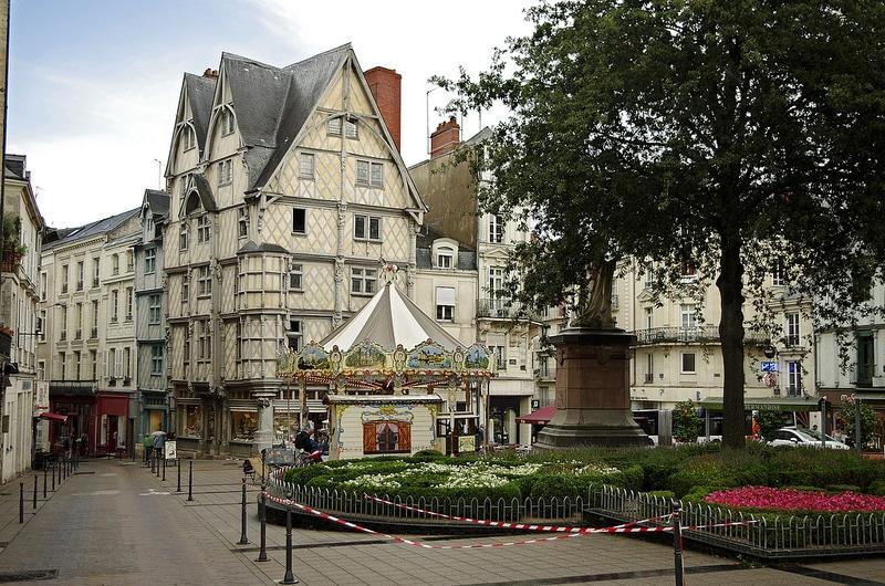 Centre ville d'Angers