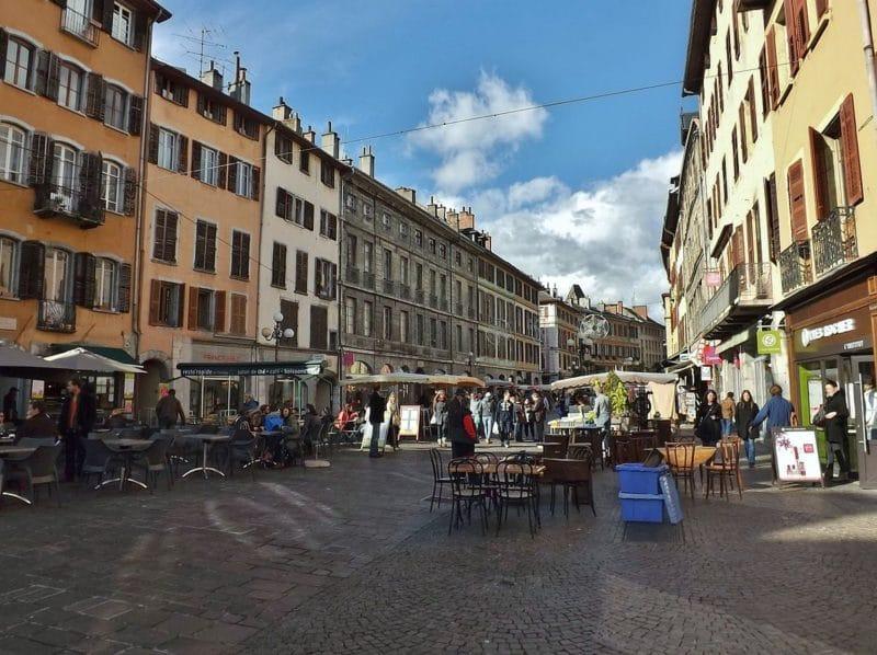 Centre-ville de Chambéry