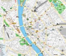 Cartes et plans de Budapest