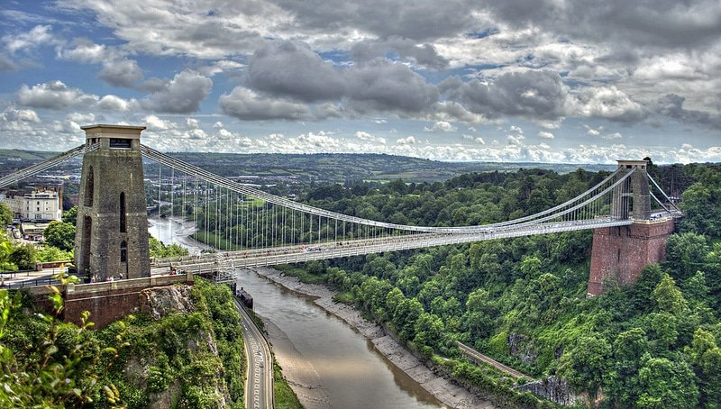 Clifton Bridge, Gorges de l'Avon, Bristol