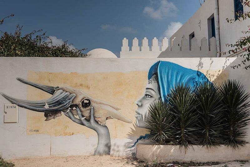 Djerbahood, Djerba, Tunisie