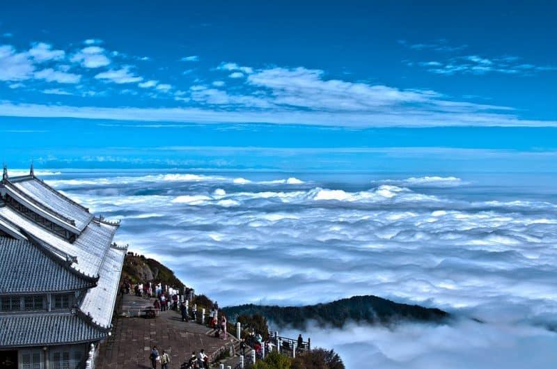 Mont Emei, Sichuan