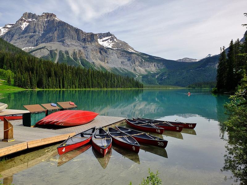 Lac Emerald, Canada