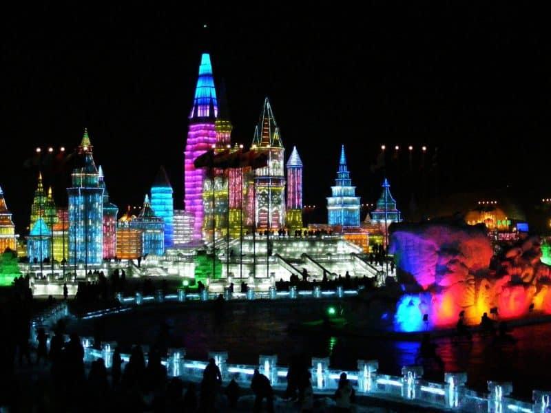 Festival de Harbin, Heilongjiang