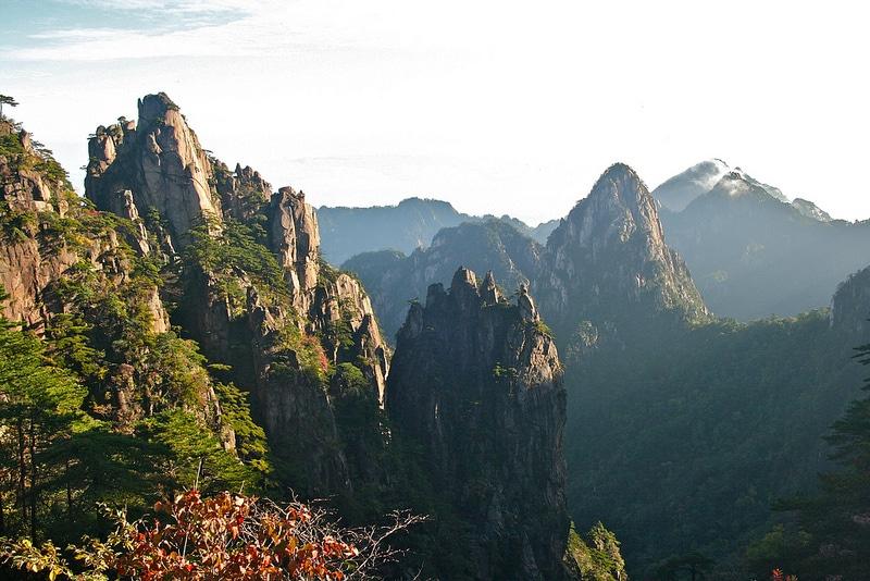 Mont Huang, Anhui