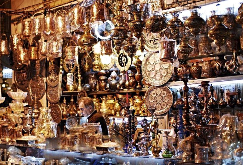 Bazar à Ispahan