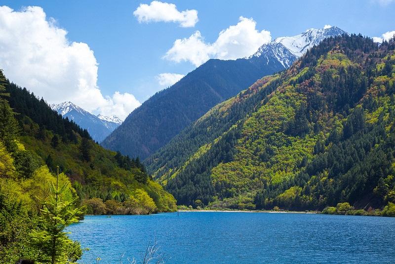 Lac Rhinoceros, Vallée de Jiuzhaigou