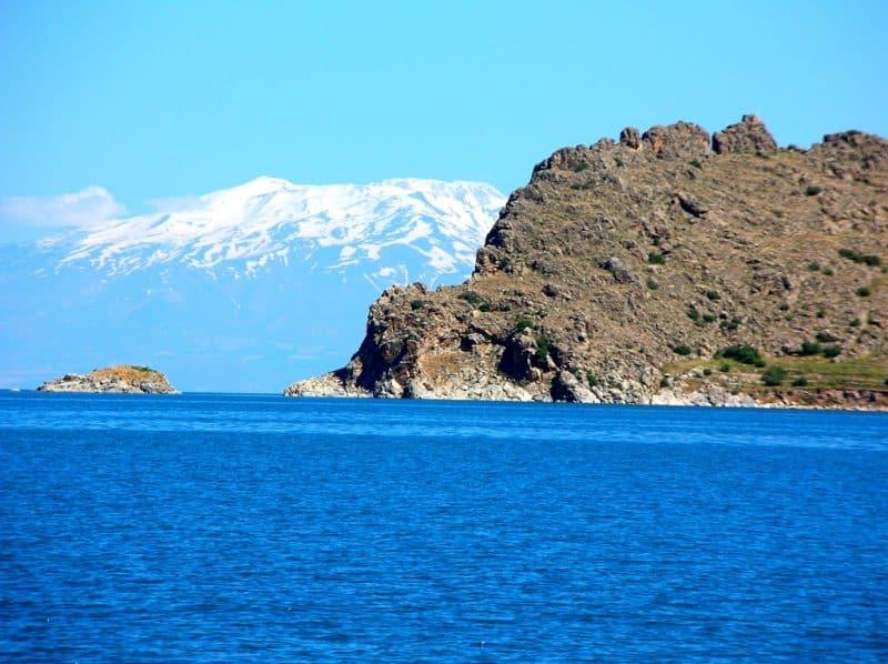 Le lac de Van, Bitlis/Van