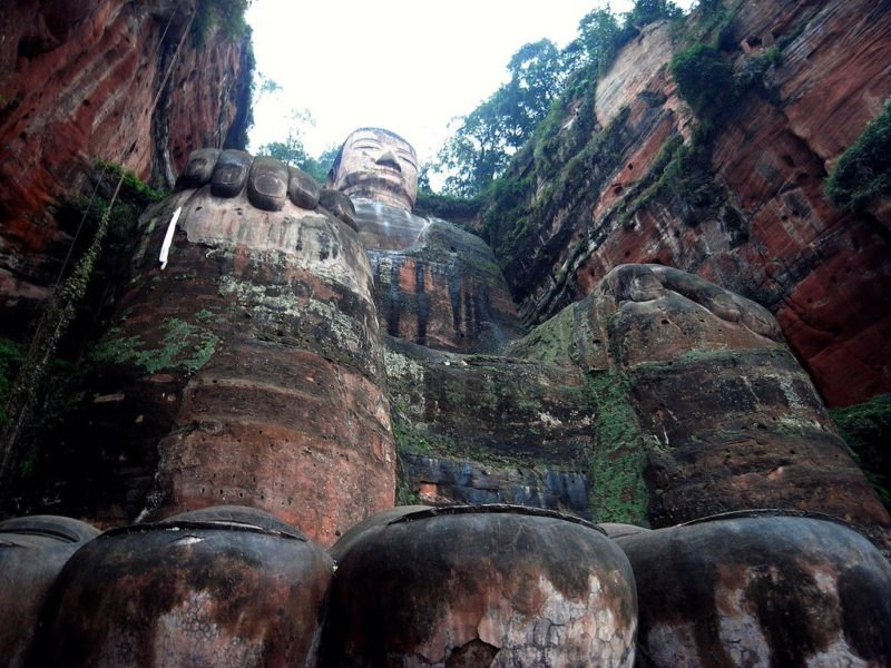 Grand Bouddha de Leshan, Chine