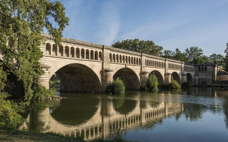Pont-canal de l'Orb béziers