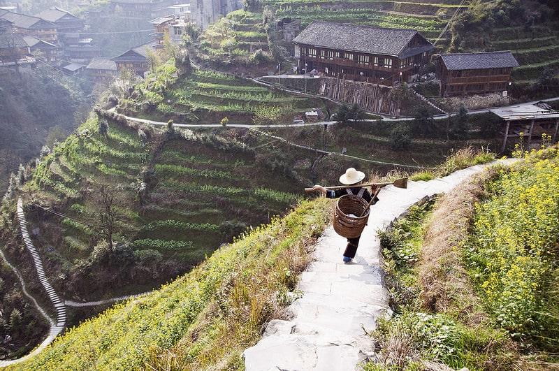 Rizières de Longji, Guangxi
