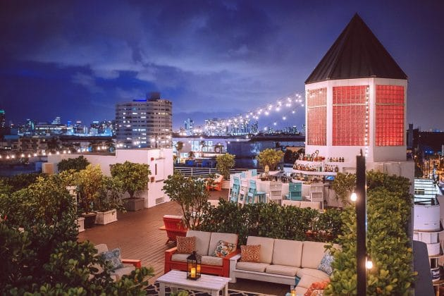 Les 10 meilleurs rooftops où boire un verre à Miami