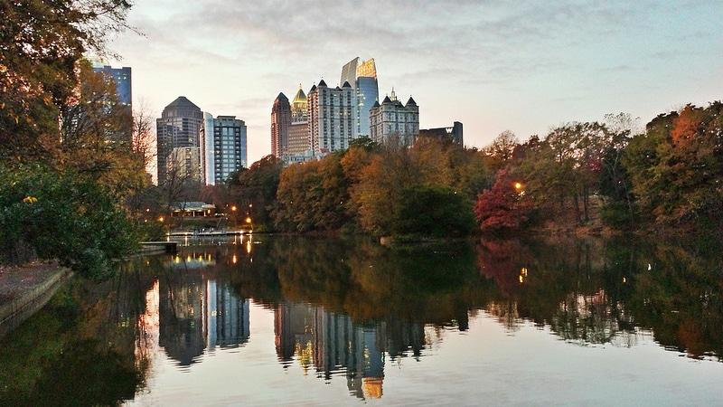 Lake Clara Meer, Midtown, Atlanta
