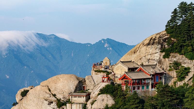 Mont Hua, Shaanxi