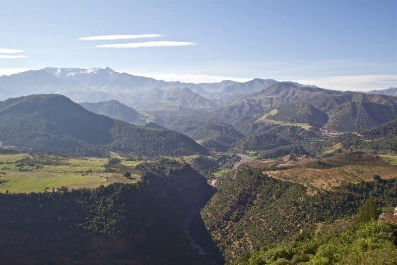 montagnes de l'Atlas