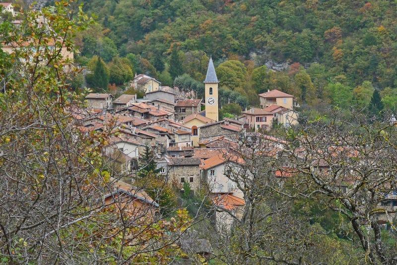 Village du Moulinet, Parc National du Mercantour