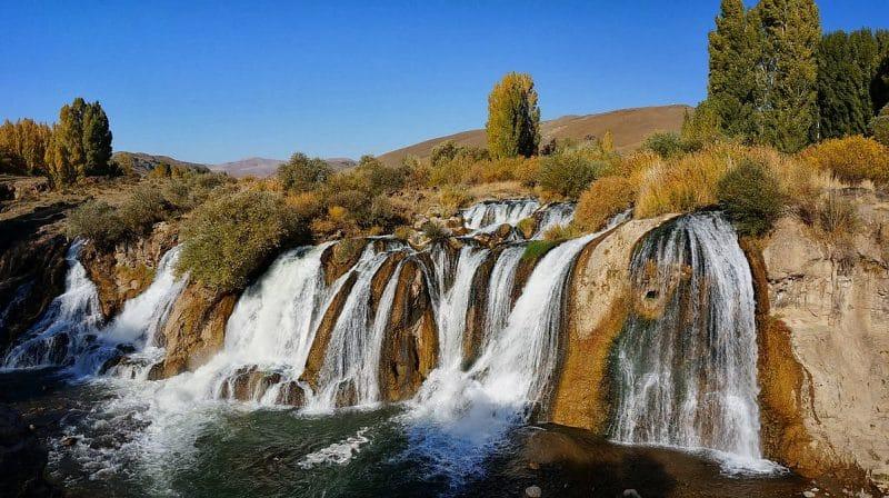 Cascade de Muradiye, Van, Turquie