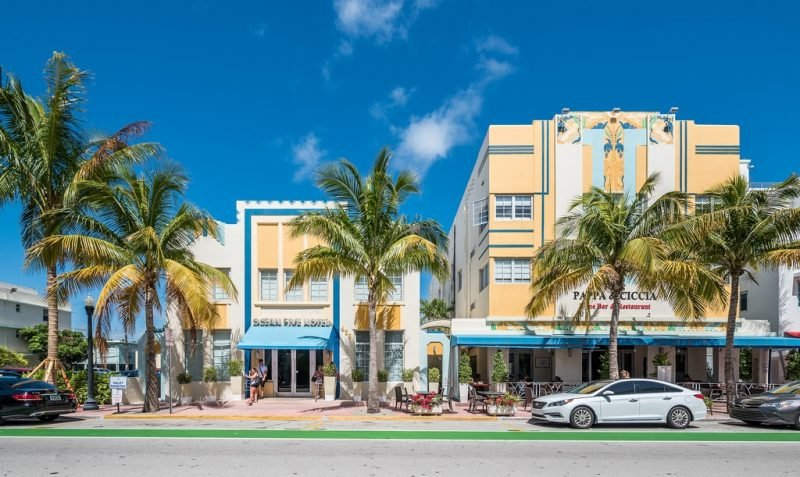 Ocean Drive, Miami Beach, Art Deco