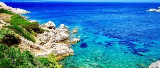 Vols A/R en Sardaigne en juillet
