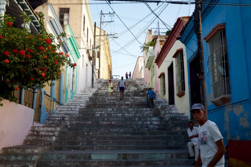 Padre Pico Steps, Tivoli, Santiago de Cuba