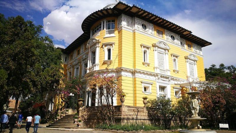 El Palacio Portales, Cochabamba