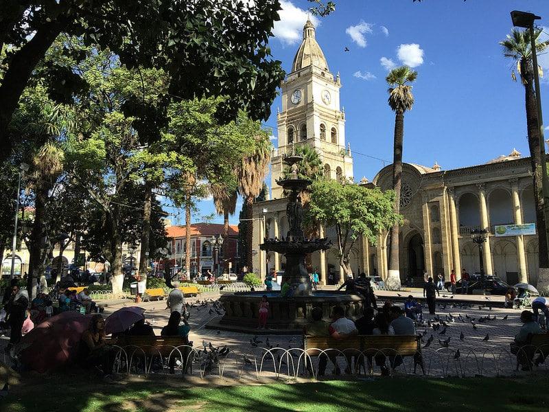 Plaza de 14 Septiembre, Cochabamba