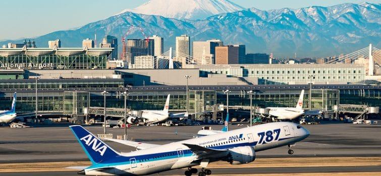 aéroport international Tokyo-Haneda