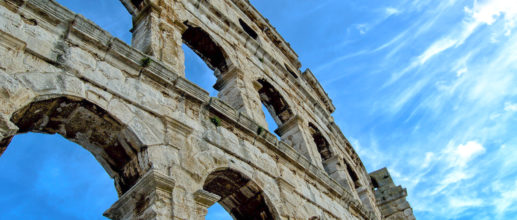 Pula, sur le littoral croate