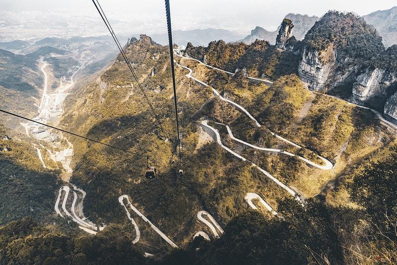 Mont Tianmen, Hunan